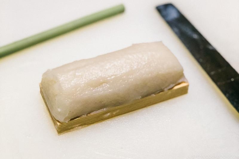 completed kamaboko - Make Fish Cakes at Suzuhiro Kamaboko Museum | www.justonecookbook.com