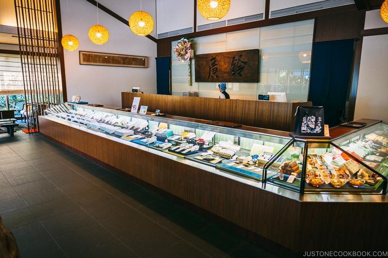 interior of Suzuhiro Kamaboko Main Shop - Make Fish Cakes at Suzuhiro Kamaboko Museum | www.justonecookbook.com