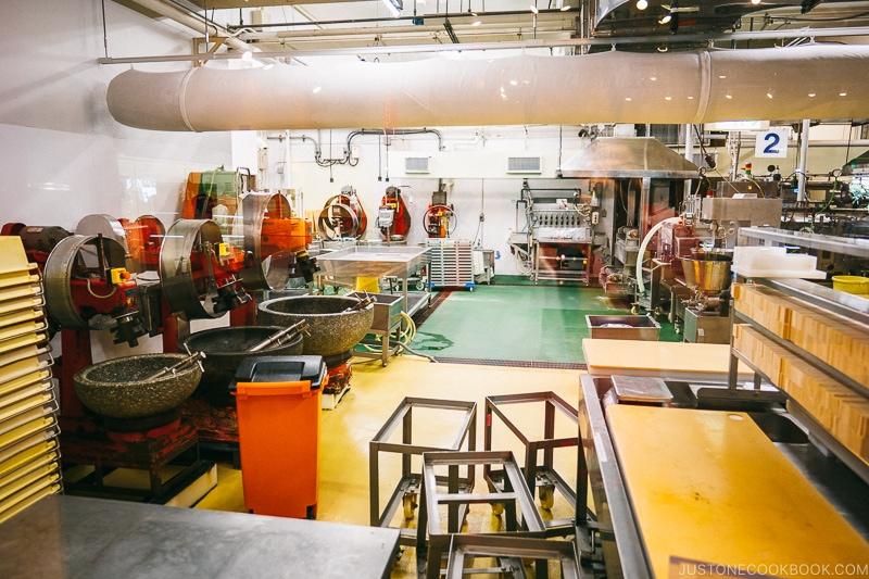 kamaboko factory - Make Fish Cakes at Suzuhiro Kamaboko Museum | www.justonecookbook.com