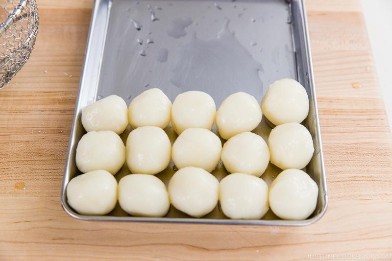 Tsukimi Dango Recipe 12