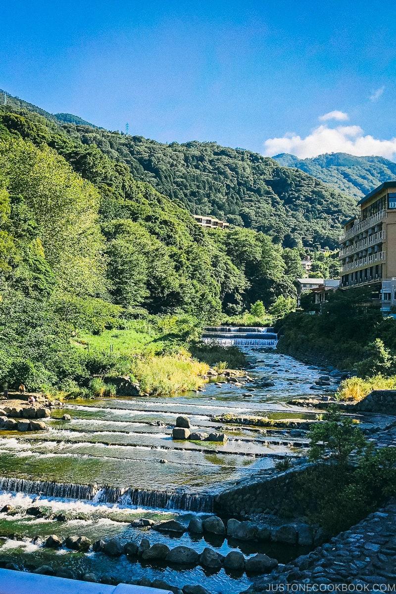 Haya River in Hakone - Hakone-Yumoto and Hakone Freepass Guide | www.justonecookbook.com