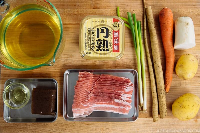 IP Tonjiru Ingredients