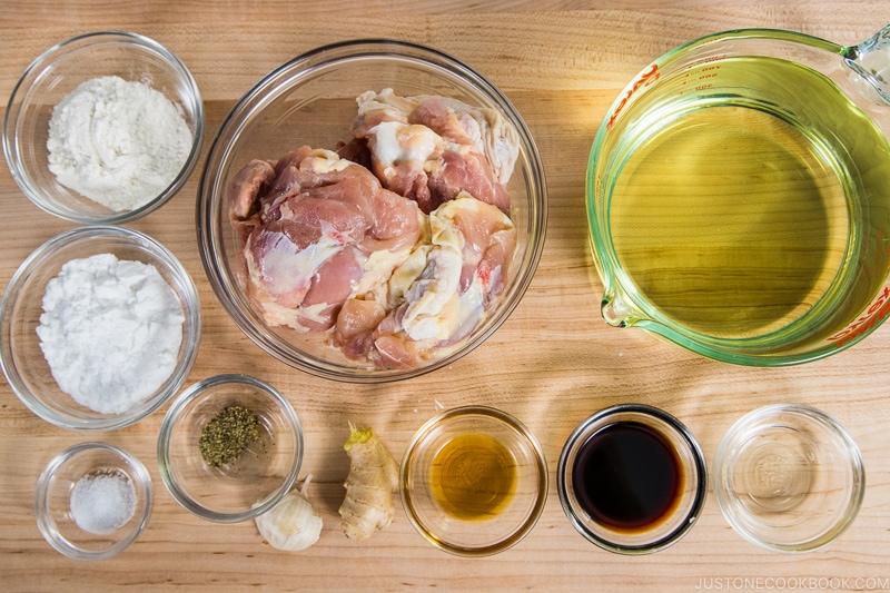 Karaage Ingredients
