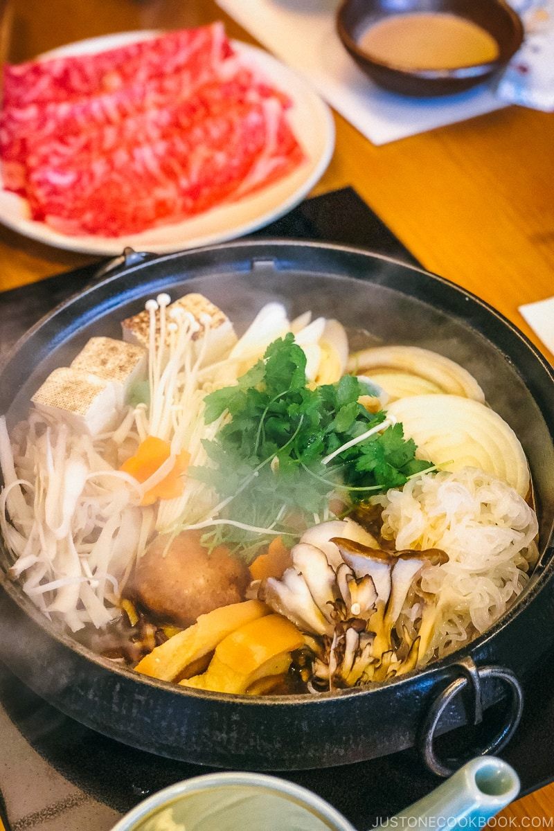 Sukiyaki | Easy Japanese Recipes at JustOneCookbook.com
