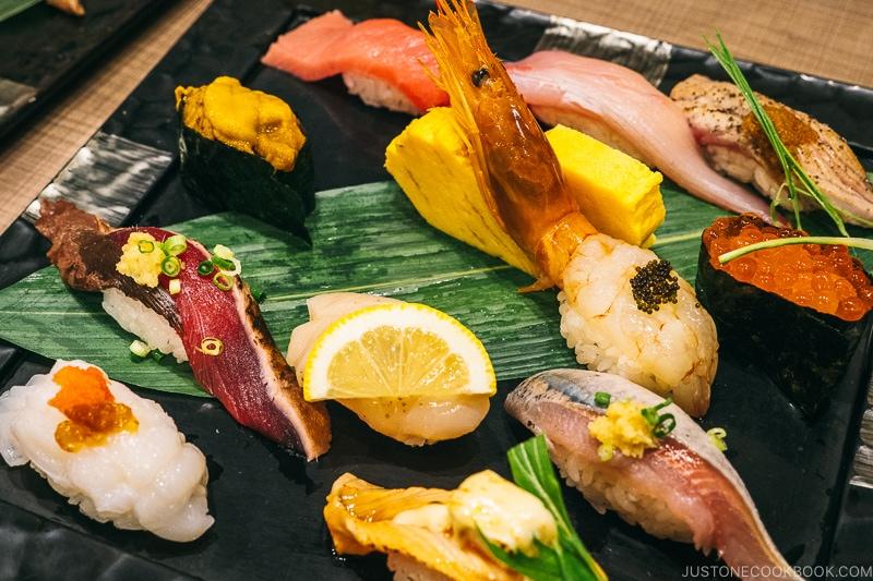 Sushi at Midori, Shibuya Tokyo | Easy Japanese Recipes at JustOneCookbook.com