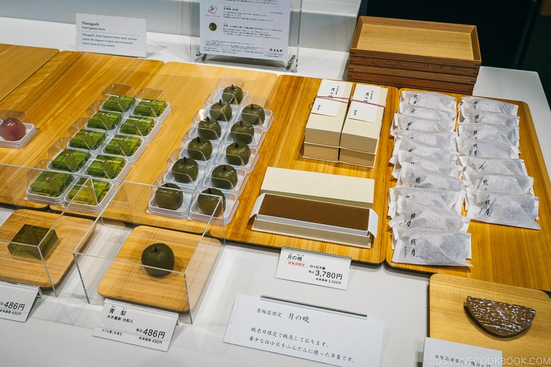 Varieties of Wagashi (Traditional Japanese Sweets)
