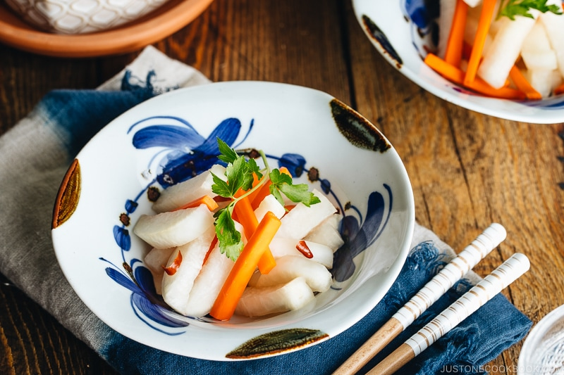 Tsukemono – Amazuzuke (Sweet Vinegar Pickling) ????