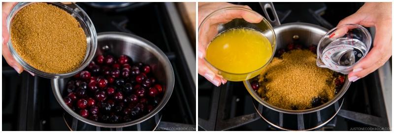 Easy Orange Ginger Cranberry Sauce 5