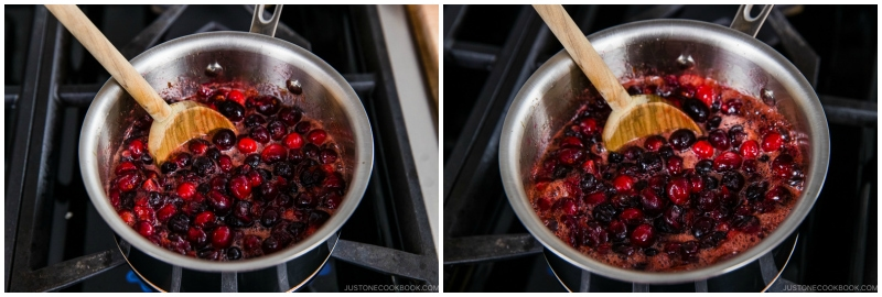 Easy Orange Ginger Cranberry Sauce 7