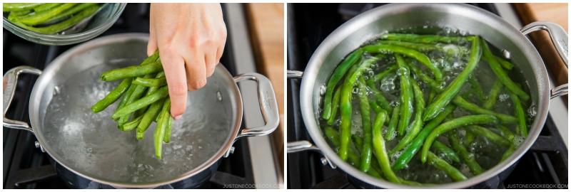 Green Bean Shiraae 4