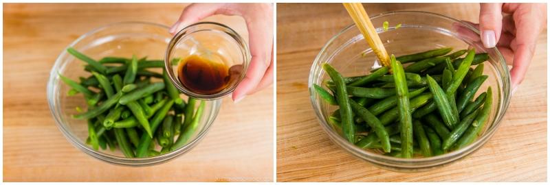 Green Bean Shiraae 7