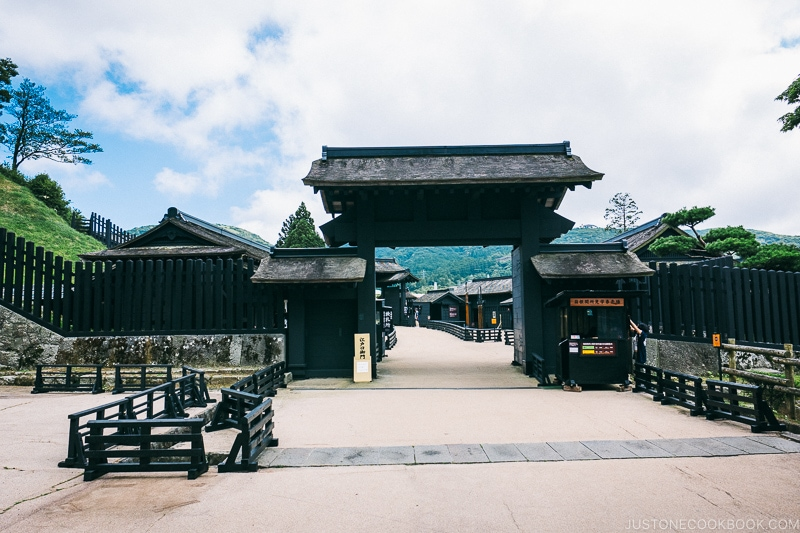 main entrance to Hakone Tokaido Checkpoint - Hakone Lake Ashi Guide | www.justonecookbook.com