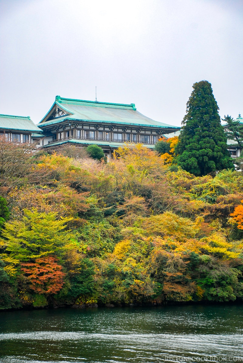 Ryuguden Hotel - Hakone Lake Ashi Guide | www.justonecookbook.com