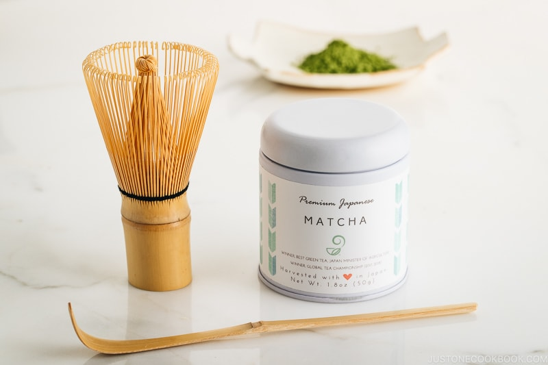 Premium Matcha Powder, Bamboo Chasen Whisk & Scoop Giveaway (US only)