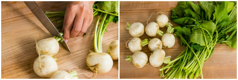 Japanese Turnips with Soboro Ankake Sauce 1