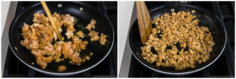 Japanese Turnips with Soboro Ankake Sauce 10