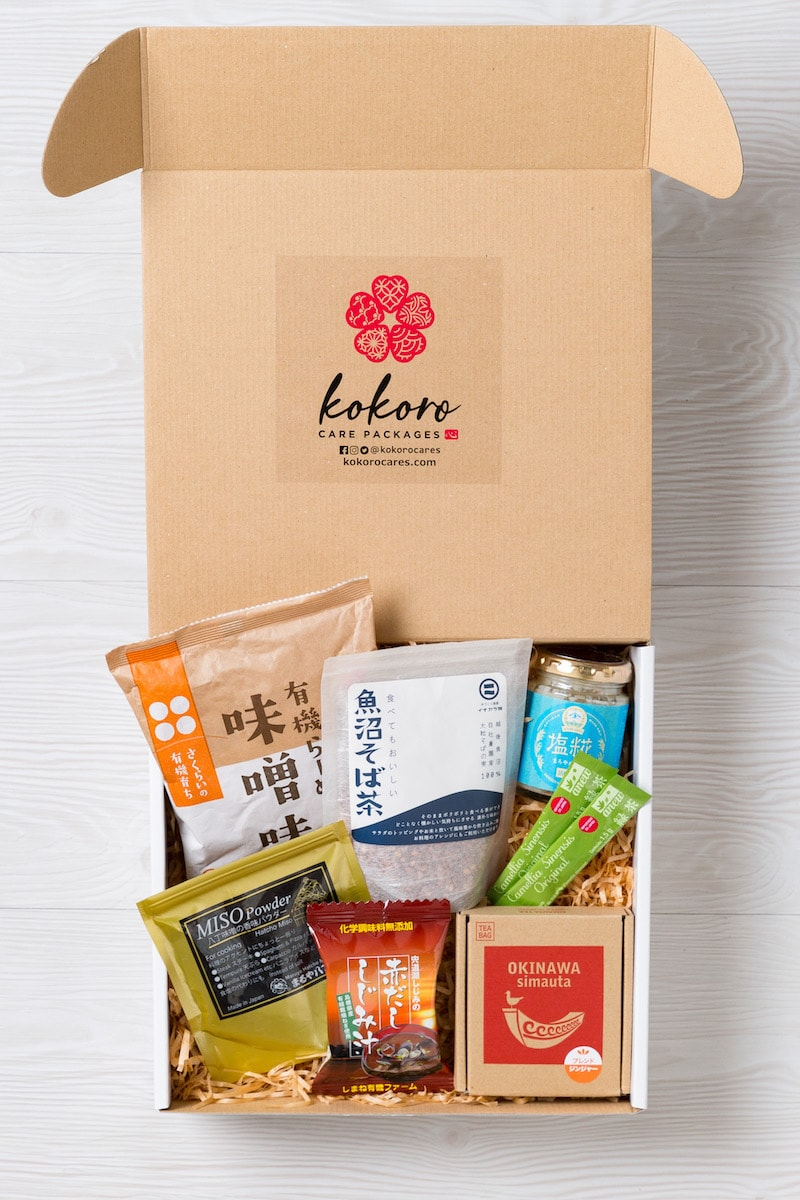 premium Japanese foods from Kokoro Care Packages