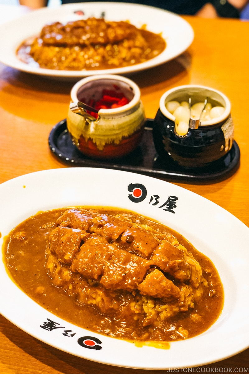 Japanese Curry at Hinoya | Easy Japanese Recipes at JustOneCookbook.com
