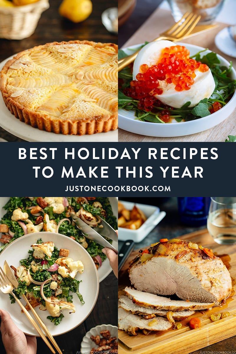 best holiday recipes and menu ideas