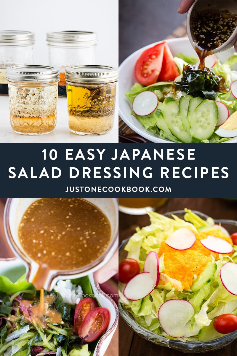 10 Easy Japanese Salad Dressings You'd Want to Know By Heart