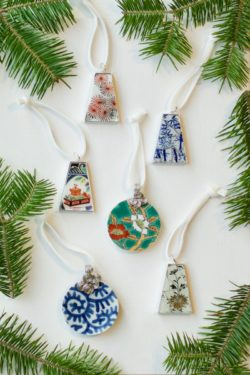 christmas ornaments from Nozomi project