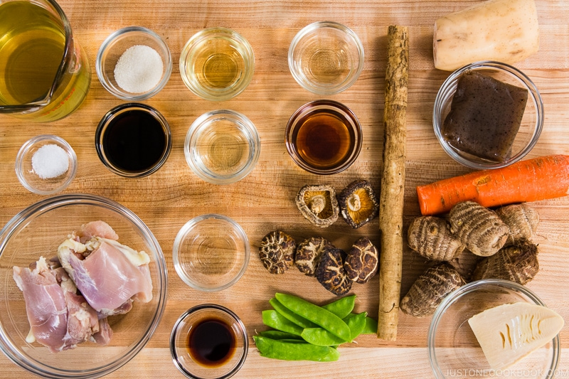 Chikuzenni Ingredients