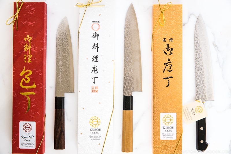 picture of Japanese knives