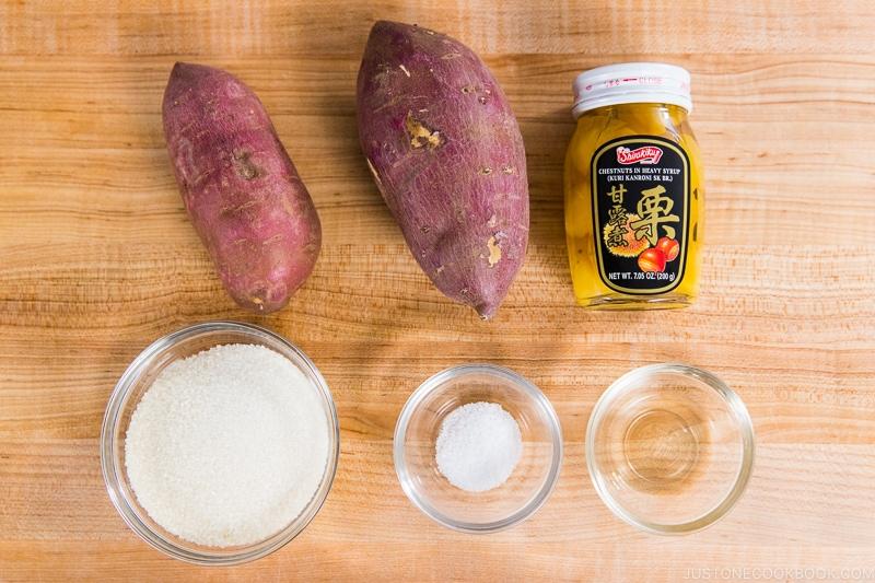 Kuri Kinton Ingredients