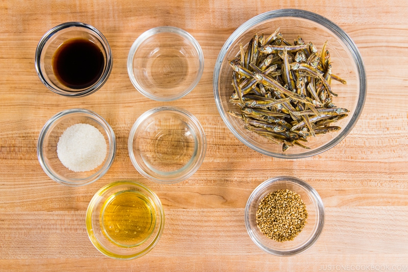 Tazukuri Ingredients