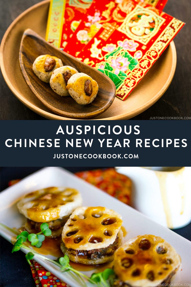Chinese new year food and recipes