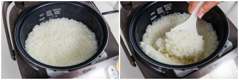 How to Cook Rice in Rice Cooker 9