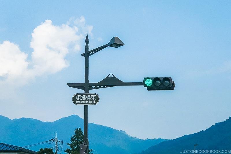 Signal sign with Mt. Fuji - Things to do around Lake Kawaguchi   www.justonecookbook.com