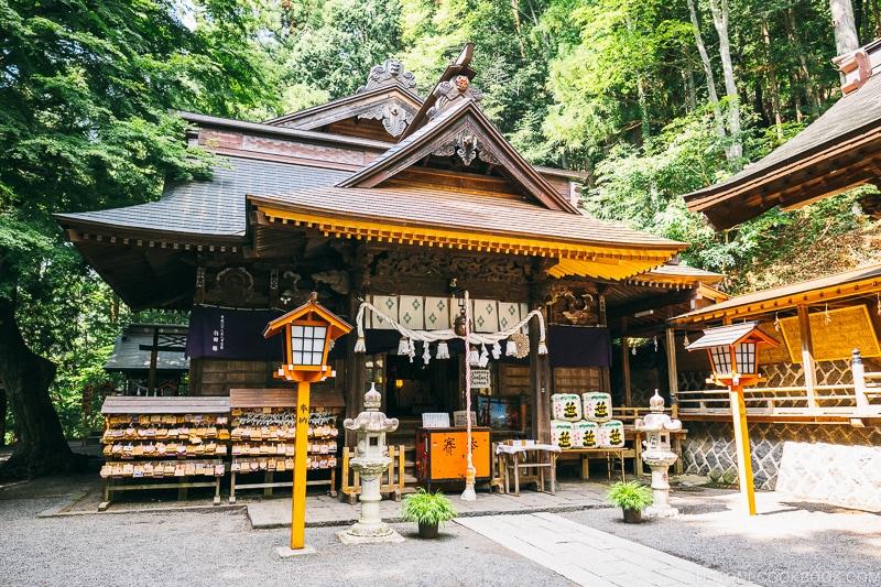 Arakura Fuji Sengen Jinja (Shrine) - Things to do around Lake Kawaguchi   www.justonecookbook.com