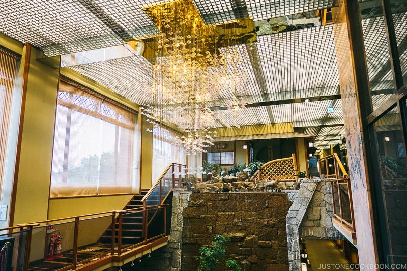 Hotel entry way - Things to do around Lake Kawaguchi   www.justonecookbook.com