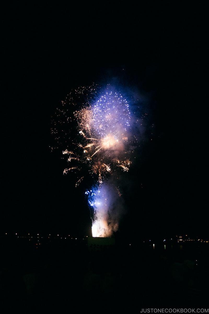Lake Kawaguchi fireworks festival - Things to do around Lake Kawaguchi   www.justonecookbook.com
