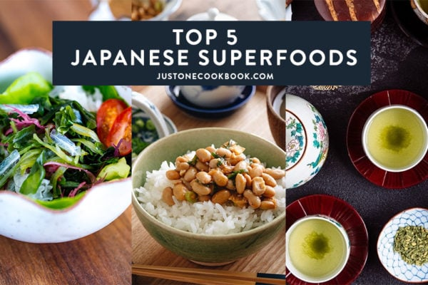 5 Japanese Superfoods for better health