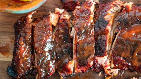 Traeger Baby Back Ribs Inspired by Franklin BBQ