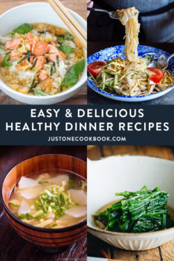 easy healthy dinner recipes & lunch ideas