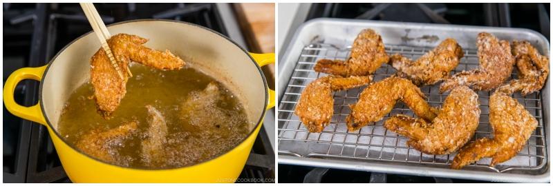 Fried Chicken Wings 8