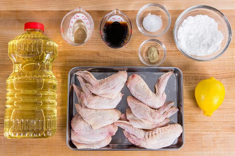 Fried Chicken Wings Ingredients