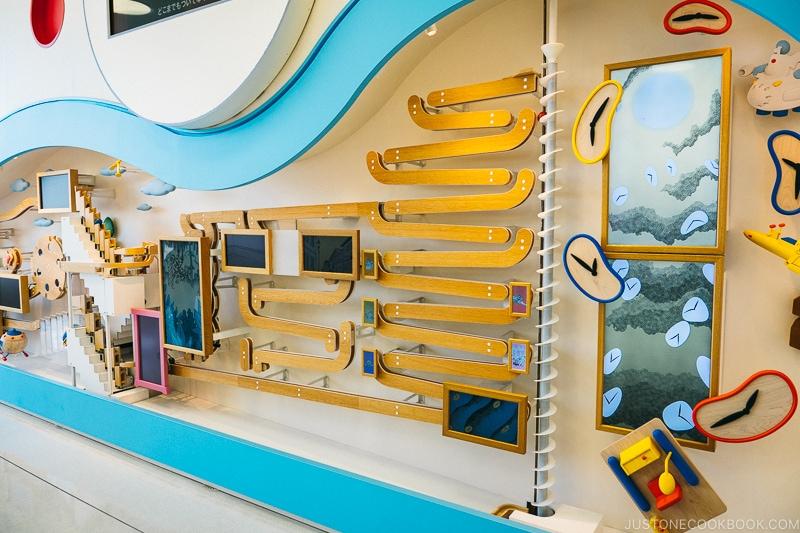 Rube Goldberg machine - Fujiko F Fujio Museum | www.justonecookbook.com