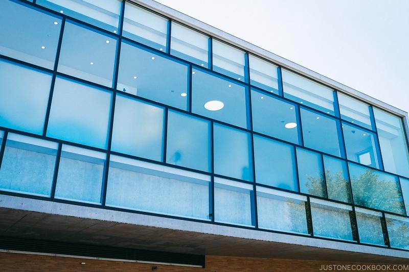 windows at Fujiko F Fujio Museum | www.justonecookbook.com