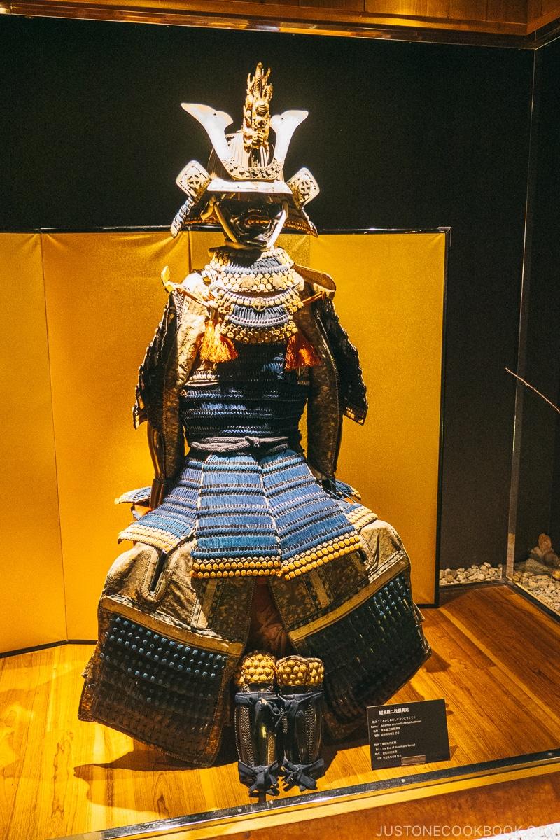 samurai armor - Samurai Museum Tokyo | www.justonecookbook.com