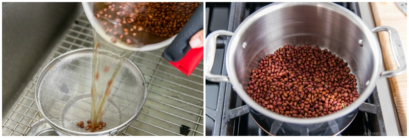 How to Make Anko Red Bean Paste 4