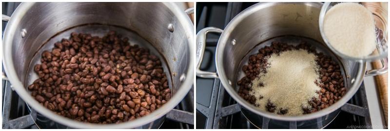How to Make Anko Red Bean Paste 9