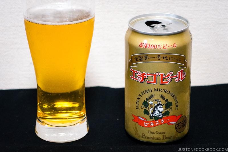 Echigo Beer - Japanese Beer Guide (Big Beer + Craft Beer) | www.justonecookbook.com