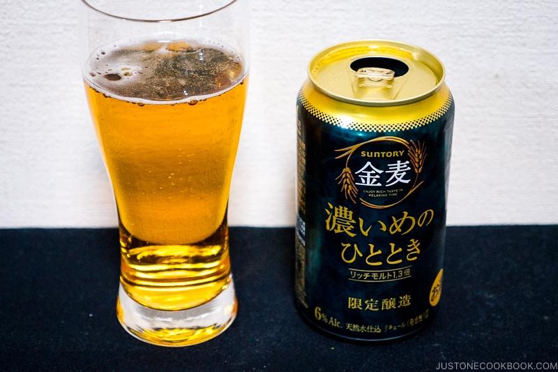 Suntory Koimenohitotoki - Japanese Beer Guide (Big Beer + Craft Beer) | www.justonecookbook.com