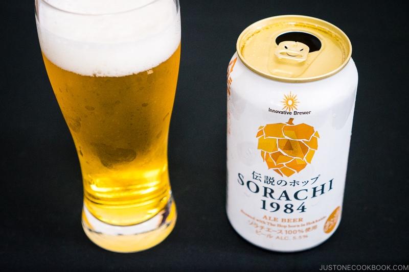 Sorachi 1984 Ale Beer - Japanese Beer Guide (Big Beer + Craft Beer) | www.justonecookbook.com
