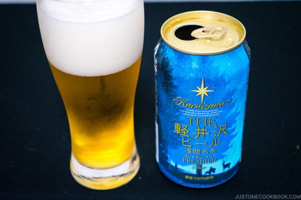 Karuizawa Clear Beer - Japanese Beer Guide (Big Beer + Craft Beer) | www.justonecookbook.com
