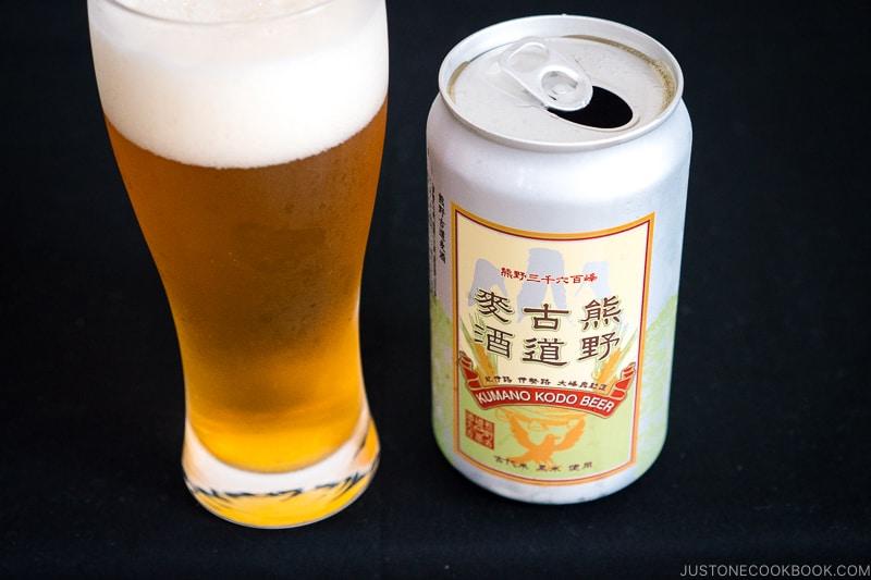 Kumano Kodo Beer - Japanese Beer Guide (Big Beer + Craft Beer) | www.justonecookbook.com